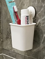 cheap -Non-marking Sucker Toothbrush Holder Wall-mounted Suit Bathroom Toilet Toothpaste Toothbrush Holder Rack Free Of Holes