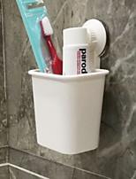 Недорогие -немаркированный присоска держатель зубной щетки настенный костюм ванная комната туалетная зубная паста держатель зубной щетки стойка без отверстий