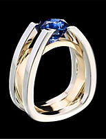 cheap -Couple's Ring 1pc Silver Alloy Daily Jewelry Cute