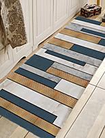 cheap -1pc Modern Stripe Flooring Pattern Bath Mats / Bath Rugs Coral Velve Geometric / Abstract 5mm Bathroom New Design