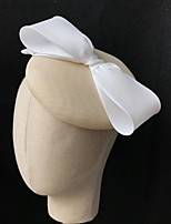 cheap -Polyester Fascinators with Solid 1 Piece Wedding Headpiece