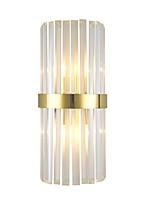 Недорогие -QIHengZhaoMing Хрусталь Modern Настенные светильники Спальня Металл настенный светильник 110-120Вольт / 220-240Вольт 5 W