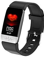 Недорогие -KUPENG T1 Универсальные Смарт Часы Умные браслеты Android iOS Bluetooth Водонепроницаемый Пульсомер Спорт Термометр Медиа контроль