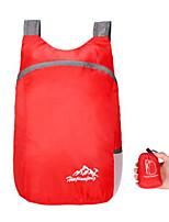 Недорогие -20 L Рюкзаки Заплечный рюкзак Легкость Быстровысыхающий Воздухопроницаемость Пригодно для носки На открытом воздухе Пешеходный туризм Полиэстер Красный Пурпурный Серый