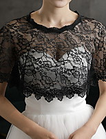 cheap -Sleeveless Scarves Faux Fur Wedding Women's Wrap With Ruffle