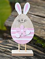 Недорогие -кролик декоративные предметы, пластик современный современный для украшения дома подарки 1шт