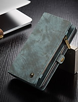 cheap -CaseMe Multifunctional Luxury Business Leather Magnetic Flip Case For Samsung Galaxy S20 / S20 Plus / S20 Ultra With Wallet Card Slot Stand 2-in-1 Detachable Case Cover