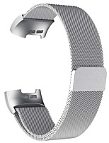 cheap -Watch Band for Fitbit Charge 3 Fitbit Sport Band / Milanese Loop / Business Band Stainless Steel Wrist Strap