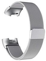 Недорогие -ремешок для часов для фитбита 3 спортивная группа FitBit / миланская петля / ремешок из нержавеющей стали