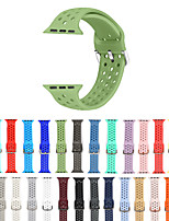 cheap -Watch Band for Apple Watch Series 5/4/3/2/1 Apple Modern Buckle Silicone Wrist Strap
