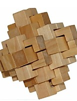 cheap -3D Puzzle Lock Toys Creative Focus Toy Cool Decompression Toys Wooden 1 pcs Kids Boys and Girls Toy Gift