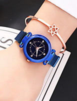 cheap -Ladies Quartz Watches Elegant Fashion Blue Silver Brown Alloy Chinese Quartz Rose Gold Purple Red Noctilucent Casual Watch 1 pc Analog One Year Battery Life