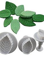 Недорогие -торт для выпечки diy инструменты 3шт роза отжимая пресс-формы