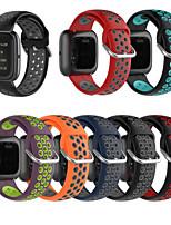Недорогие -Ремешок для часов для Fitbit Versa / Fitbi Versa Lite / Fitbit Versa2 Fitbit Спортивный ремешок силиконовый Повязка на запястье