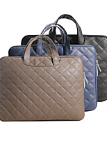 cheap -11.6 Inch Laptop / 12 Inch Laptop / 13.3 Inch Laptop Sleeve / Briefcase Handbags / Tablet Cases PU Leather / Polyurethane Leather Textured / Plain for Men for Women for Business Office Waterpoof