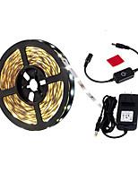 Недорогие -3м гибкие светодиодные полосы света гибкие огни tiktok 180 светодиодов 2835 smd теплый белый декоративный / фон для ТВ 12 В