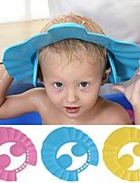 Недорогие -шапочки для душа шапочка для шампуня мыть волосы дети козырек для ванны шапки регулируемый щит водонепроницаемый ушной защиты глаз детские шапки детские