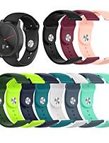 cheap -Silicone Watchband for Garmin Forerunner 645 / 245 / Venu/ vivoactive3 / Vivoactive3 music / Vivomove