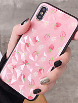 cheap -Case For Apple iPhone XR / iPhone XS Max / iphone 7/8 Pattern Back Cover Tile TPU