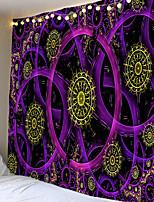 Недорогие -Индийский подвесной гобелен Мандала Ткань Психоделический гобелен Большой гобелен Хиппи Бохо Декор Общежитие Стенная ткань Гобелен