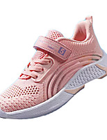 cheap -Girls' Comfort Leather Athletic Shoes Big Kids(7years +) Walking Shoes Red / Fuchsia / Pink Summer