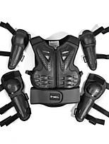 Недорогие -защитное снаряжение для мотоциклистов детская броневая одежда езда защитный костюм спортивные наколенники и локти
