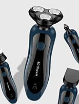 Недорогие -4 в 1 бритва электрическая бритва аккумуляторная 3 лезвия портативная машинка для стрижки волос носа бороды