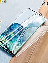 Недорогие -2шт 3d закаленное стекло экрана защиты для Samsung Galaxy S20 / S20 Plus / S20 Ultra / S10 / S10Plus / S10E / S9 / S9Plus / S8 / S8Plus