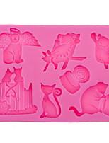 Недорогие -Декоративные объекты, Полный силикон для тела Современный современный для Украшение дома Дары 1шт