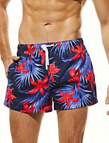 cheap -SEOBEAN® Men's Swim Shorts Swim Trunks Bottoms Quick Dry Drawstring - Swimming Surfing Painting Spring Summer / Micro-elastic