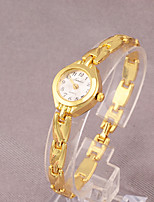 cheap -Women's Quartz Watches Fashion Gold Alloy Chinese Quartz Gold Adorable 1 pc Analog One Year Battery Life