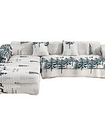 Недорогие -сосновый принт пылезащитный всесильный чехлы на диван эластичный чехол для дивана супер мягкая ткань чехол с одной бесплатной наволочкой