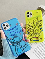 cheap -For Apple iPhone 11 11pro 11promax 8p X XS XSMAX XR 6P 6 7 8 Simple Cartoon Pattern Fluorescent TPU Material Mobile Phone Case