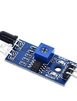 Недорогие -ИК инфракрасный модуль датчика препятствия для Arduino умный автомобиль робот