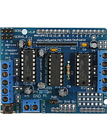 Недорогие -Моторный щиток l293d применим к Arduino Duemilanove Mega Uno R3 AVR Atmel