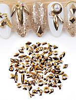 Недорогие -1*100 pcs Лучшее качество Стразы Стразы для ногтей Назначение Маникюр 3D маникюр Маникюр педикюр Повседневные Мода