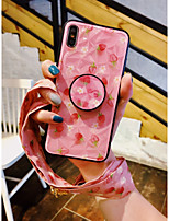 cheap -Case For Apple iPhone XR / iphone 7/8 / iphone 7Plus / 8Plus Pattern Back Cover Tile TPU