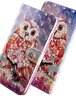 cheap -Case For Samsung Galaxy A50/Galaxy A50s /Galaxy A30s Wallet / Card Holder / with Stand Full Body Cases Animal PU Leather For Galaxy A01/A21/A81/A91/A70E/A51/A71/M30S/A70S