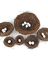 Недорогие -имитация птиц сетки декоративные предметы, пластик современный современный для украшения дома подарки 1 шт.