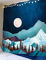 Недорогие -солнце луна гобелен гобелен хиппи колдовство тапиз психоделический сельский дом декор палатка гобелен пляж богемный обычай
