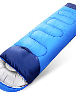 cheap -Sleeping Bag Outdoor Camping Envelope / Rectangular Bag 20 °C Single T / C Cotton Thermal / Warm Portable Windproof Breathable Quick Dry Thick Skin Friendly 220*80 cm Autumn / Fall Winter Spring