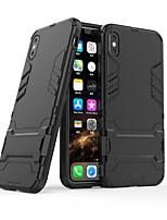 Недорогие -Кейс для Назначение Apple iPhone 11 / iPhone 11 Pro / iPhone 11 Pro Max Матовое Кейс на заднюю панель Плитка ТПУ