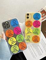 Недорогие -для Apple, Iphone 11 11pro 11promax 8p x xs xsmax xr 6p 6 7 8 простой шаблон флуоресцентный материал ТПУ чехол для телефона