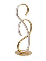Недорогие -Настольная лампа LED / Новый дизайн Простой Назначение Кабинет / Офис 220 Вольт Золотой / Белый / Черный