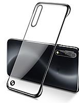 Недорогие -Кейс для Назначение SSamsung Galaxy Galaxy Note 10 / Galaxy Note 10 Plus Покрытие Кейс на заднюю панель Однотонный ПК