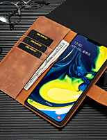 cheap -DG Ming Leather Card Magnetic Phone Cases For Samsung Galaxy Note 8 9 10 A 31 51 71 S20 Ultra 8 9 10 Plus Phone Cover