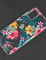 cheap -Case For Huawei Scene Map P40 P40 Pro P40 Lite P30 P30 Pro Flower Pattern High Transparency Painted TPU Material Soft Case Jinyu