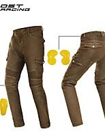 Недорогие -мотоциклетные штаны езда джинсовая ткань демин износостойкие против падения мотоциклетные штаны гоночные брюки четыре сезона