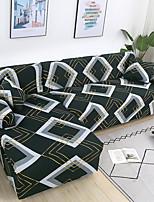 Недорогие -Накидка на диван Геометрический принт / Классика / Современный стиль Крашенный в пряже Полиэстер Чехол с функцией перевода в режим сна