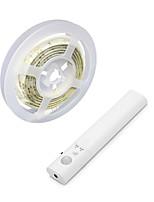 Недорогие -1м гибкие светодиодные полосы RGB TIKTOCK огни 30 светодиодов 2835 smd 10мм 1 комплект теплый белый / белый хэллоуин / рождество водонепроницаемый / USB / декоративные USB питание